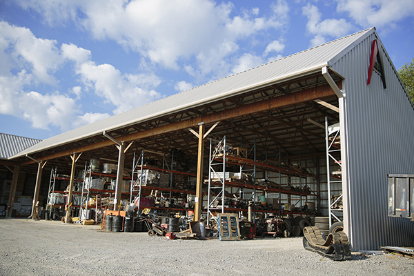 ABR Construction Roofing and Excavation Warehouse Near Nicholasville, Kentucky (KY)