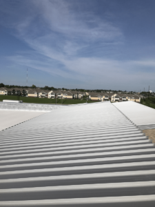Frederick Douglass High School Project with Metal Roof in Lexington, Kentucky (KY) in Fayette County