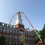 Before: Transylvania University - Carpenter Building Clock Tower