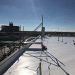 Flat Top Commercial Roofing for Rupp Arena Near Lexington, KY