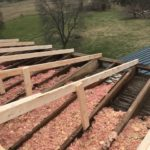 Emergency Roof Beam Repair for Historic Building Rain Damage Near Richmond, KY