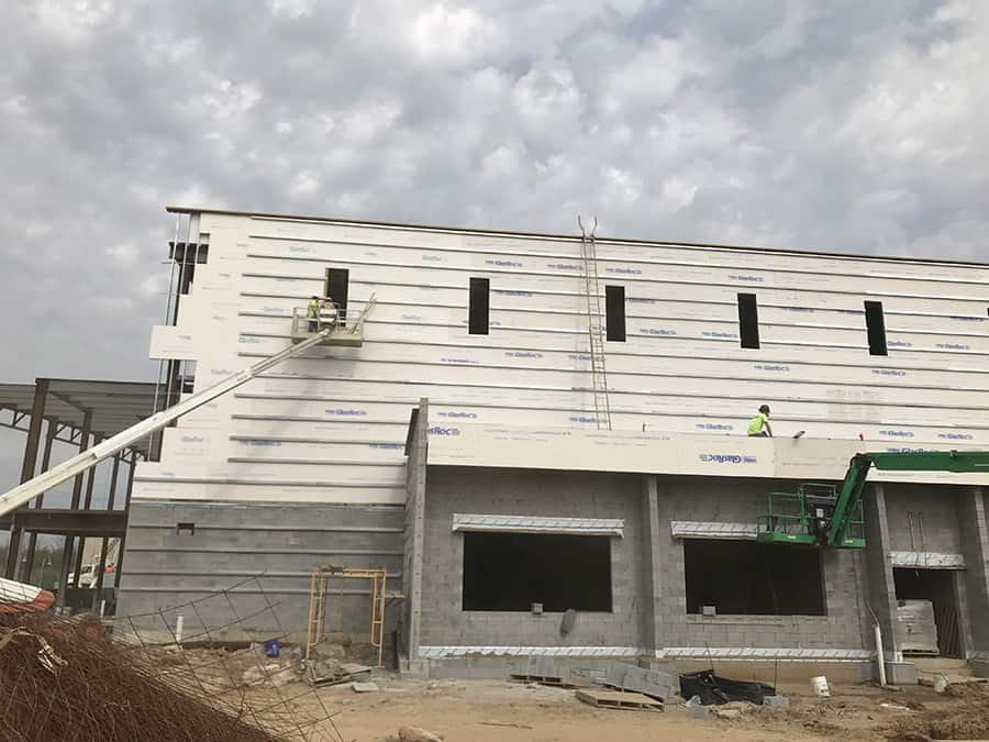 Sheet Metal Fabrication Near Nicholasville, Kentucky (KY) like Roofing and Insulated Wall Panels for Low Maintenance